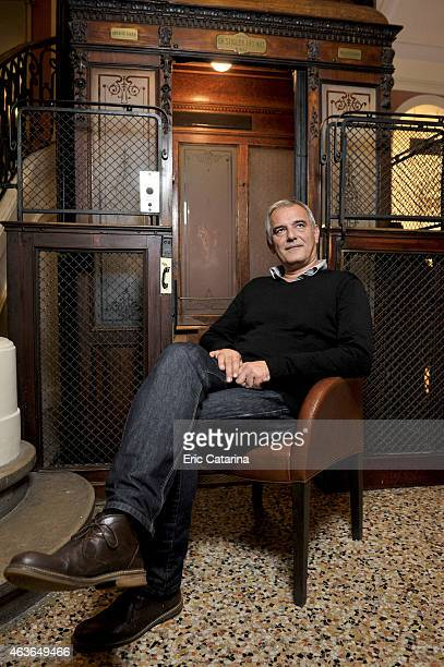 Director Laurent Cantet is photographed for Self Assignment on October 25 2014 in Montpellier France