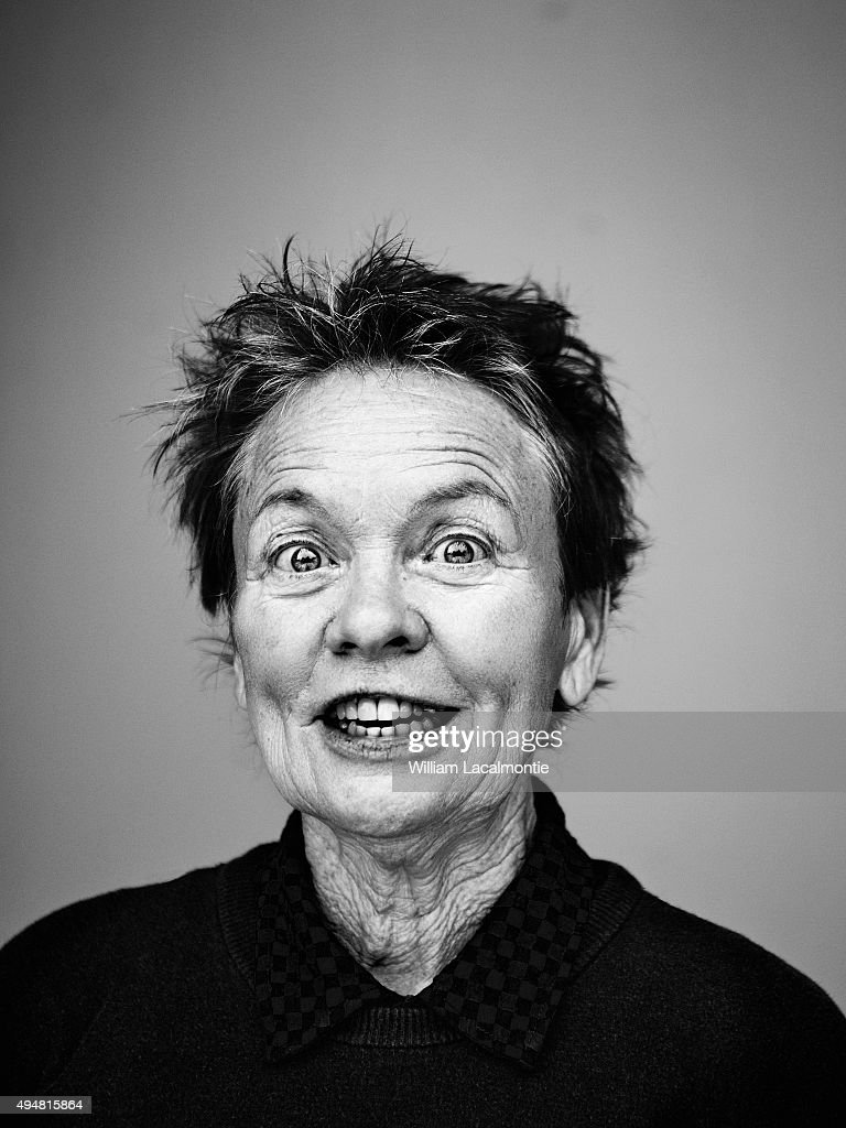 Director Laurie Anderson is photographed for Self Assignment on September 18, 2015 in San Sebastian, Spain.