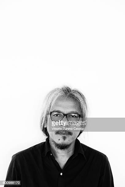 Director Lav Diaz poses on September 9 2016 in Venice Italy