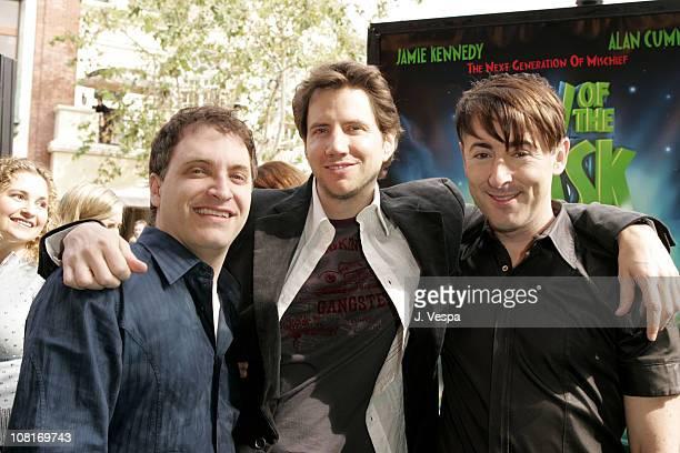 Director Lawrence Guterman Jamie Kennedy and Alan Cumming