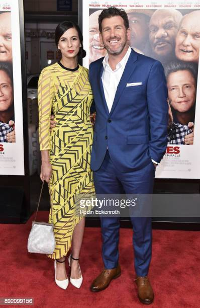 Director Lawrence Sher and Hema Patel arrive at the premiere of Warner Bros Pictures' 'Father Figures' at TCL Chinese Theatre on December 13 2017 in...