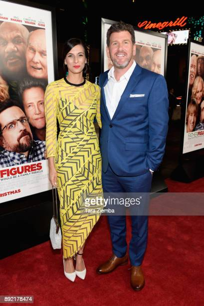 Director Lawrence Sher and Hema Patel attend the premiere of Warner Bros Pictures' 'Father Figures' at TCL Chinese Theatre on December 13 2017 in...