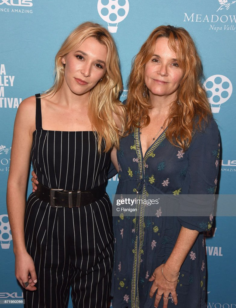 Director Lea Thompson and daughter Madelyn Deutch (L) attend the screening of ÒTHE YEAR OF SPECTACULAR MENÓ during the 7th Annual Napa Valley Film Festival at the Uptown Theatre on November 8, 2017 in Napa, California.