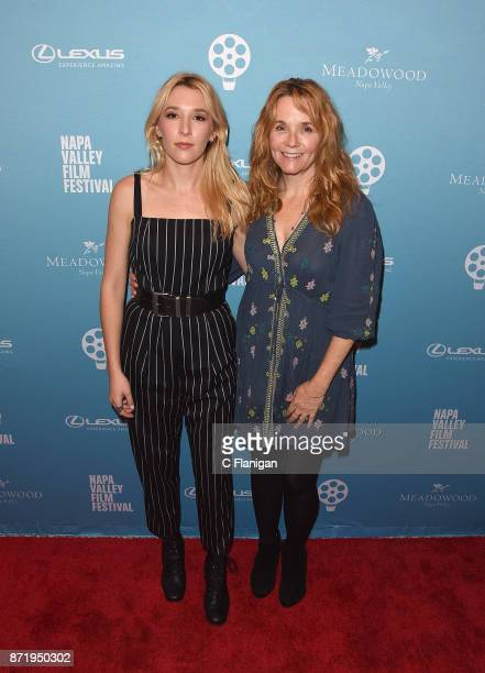Director Lea Thompson and daughter Madelyn Deutch attend the screening of ÒTHE YEAR OF SPECTACULAR MENÓ during the 7th Annual Napa Valley Film...