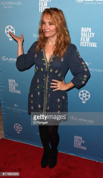 Director Lea Thompson attends the screening of ÒTHE YEAR OF SPECTACULAR MENÓ during the 7th Annual Napa Valley Film Festival at the Uptown Theatre on...