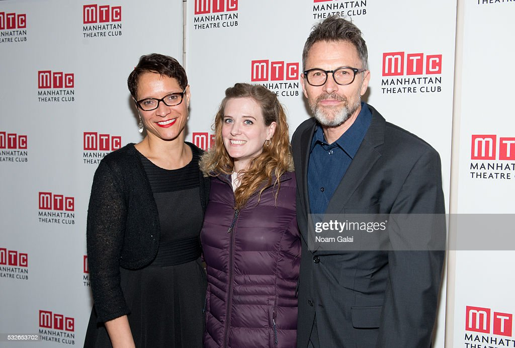 Beautiful Director Leah C Gardiner Playwright Penelope Skinner And Actor Tim Daly  Attend The Opening Night Of