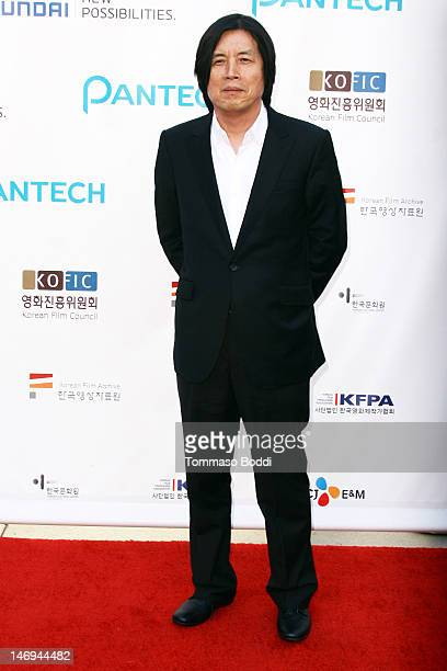 Director Lee Changdong attends the Look East Korean Film Festival Opening Ceremony held at the Grauman's Chinese Theatre on June 23 2012 in Hollywood...
