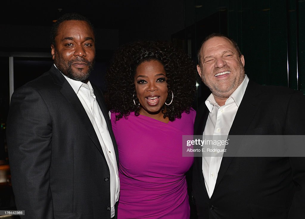Director Lee Daniels, actress Oprah Winfrey and Co-chairman of The Weinstein Company, Harvey Weinstein attend the after party for the Premiere Of The Weinstein Company's 'Lee Daniels' The Butler' at Regal Cinemas L.A. Live on August 12, 2013 in Los Angeles, California.