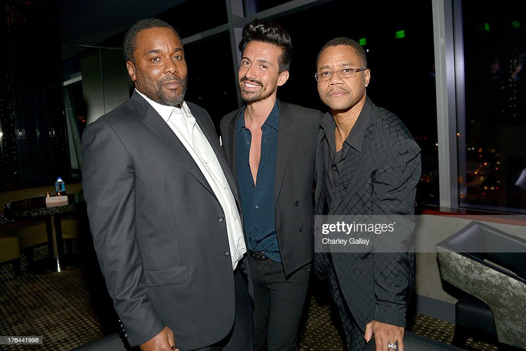 Director Lee Daniels (L) and actor Cuba Gooding Jr. (R) attend the after party for LEE DANIELS' THE BUTLER Los Angeles premiere, hosted by TWC, Budweiser and FIJI Water, Purity Vodka and Stack Wines, held at the Ritz-Carlton on August 12, 2013 in Los Angeles, California.