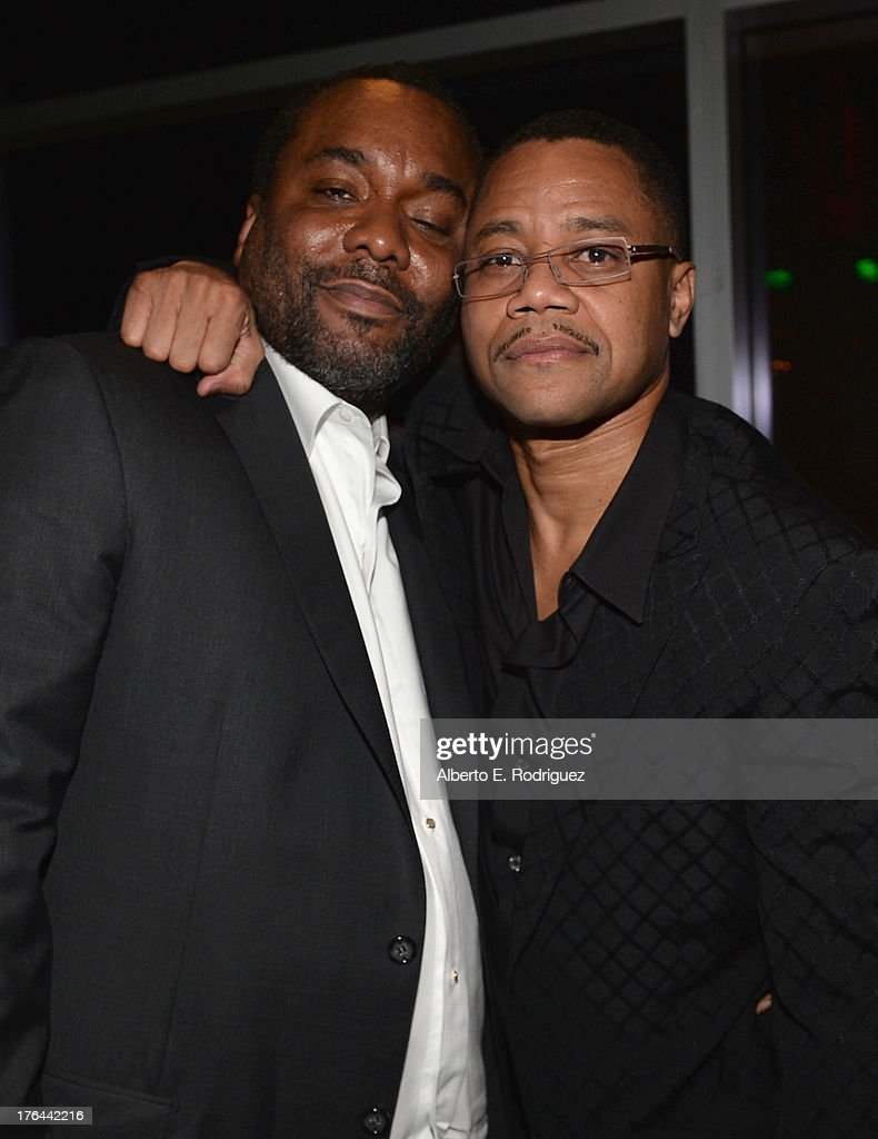 Director Lee Daniels and actor Cuba Gooding Jr. attend the after party for the Premiere Of The Weinstein Company's 'Lee Daniels' The Butler' at Regal Cinemas L.A. Live on August 12, 2013 in Los Angeles, California.