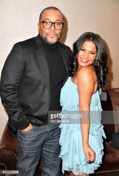Director Lee Daniels and actor Nia Long attend BET Presents the American Black Film Festival Honors on February 17 2017 in Beverly Hills California