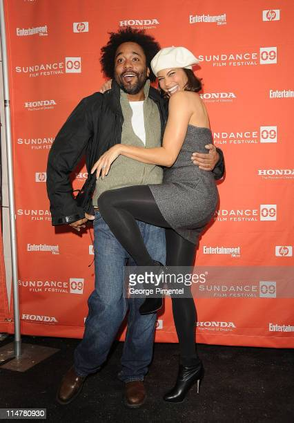 Director Lee Daniels and actress Paula Patton attend the premiere of Precious Based On The Novel 'Push' By Sapphire during the 2009 Sundance Film...