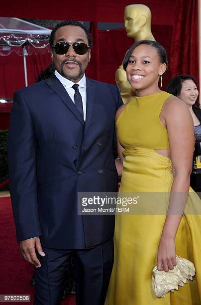 Director Lee Daniels and daughter Clara arrives at the 82nd Annual Academy Awards held at Kodak Theatre on March 7 2010 in Hollywood California