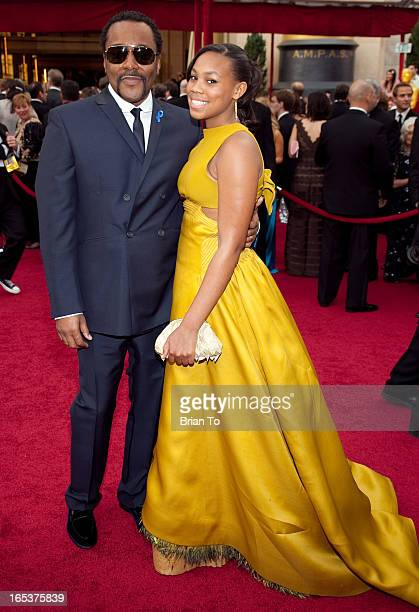 Director Lee Daniels and daughter Clara Daniels arrive at the 82nd Annual Academy Awards held at the Kodak Theatre on March 7 2010 in Hollywood...
