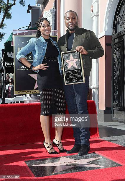 Director Lee Daniels and daughter Clara Daniels attend his being honored with a Star on the Hollywood Walk of Fame on December 2 2016 in Hollywood...
