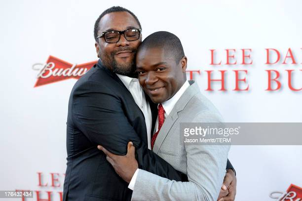 """Director Lee Daniels and David Oyelowo arrive at the premiere of The Weinstein Company's """"Lee Daniels' The Butler"""" at Regal Cinemas L.A. Live on..."""
