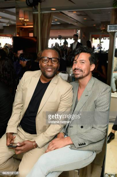 Director Lee Daniels and Jahil Fisher attend the Daily Front Row's 3rd Annual Fashion Los Angeles Awards at Sunset Tower Hotel on April 2 2017 in...