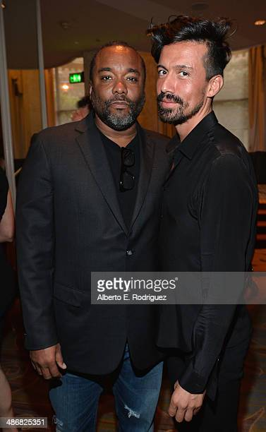 Director Lee Daniels and Jahil Fisher attend the Jonsson Cancer Center Foundation's 19th Annual A Taste For A Cure at The Regent Beverly Wilshire...