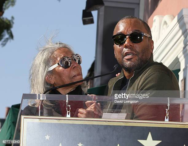Director Lee Daniels and mother Clara Watson attend his being honored with a Star on the Hollywood Walk of Fame on December 2 2016 in Hollywood...