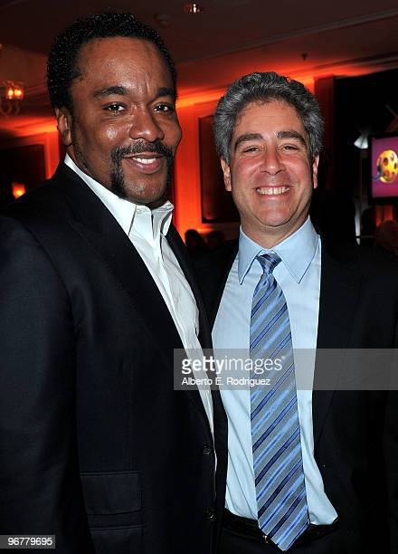 Director Lee Daniels and Overture Film's Danny Rosett at AARP Magazine's 9th Annual Movies for Grownups Awards at The Beverly Wilshire Hotel on...