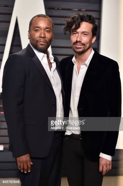 Director Lee Daniels and stylist Jahil Fisher attend the 2017 Vanity Fair Oscar Party hosted by Graydon Carter at Wallis Annenberg Center for the...