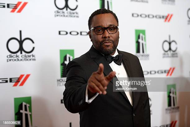 Director Lee Daniels arrives at the 17th annual Hollywood Film Awards at The Beverly Hilton Hotel on October 21, 2013 in Beverly Hills, California.
