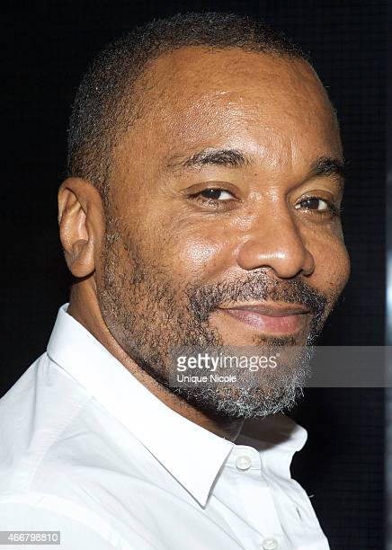 Director Lee Daniels attends the Empire Season Finale Viewing Party at The Man Cave Ultimate Sports Bar and Lounge on March 18 2015 in Los Angeles...