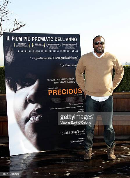 """Director Lee Daniels attends the """"Precious"""" photocall held at Terrazza Martini on November 24, 2010 in Milan, Italy."""