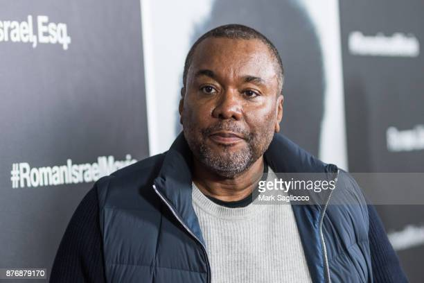 Director Lee Daniels attends the Roman J Israel Esquire New York Premiere at Henry R Luce Auditorium at Brookfield Place on November 20 2017 in New...