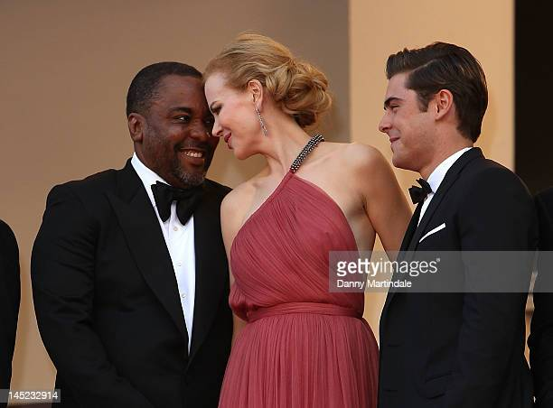 Director Lee Daniels Nicole Kidman and Zac Efron attends the 'The Paperboy' premiere during the 65th Annual Cannes Film Festival at Palais des...