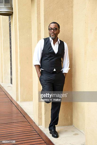 Director Lee Daniels poses during a portrait session on day seven of the 11th Annual Dubai International Film Festival held at the Madinat Jumeriah...