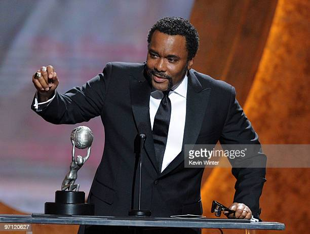 """Director Lee Daniels, winner Outstanding Directing in a Motion Picture for """"Precious: Based on the Novel 'Push' by Sapphire,"""" onstage during the 41st..."""