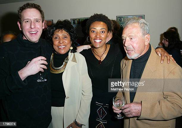 Director Lee Hirsch Sherry Simpson's mother producer Sherry Simpson and Lee Hirsch's father attend the New York premiere of Artisan's Amandla A...