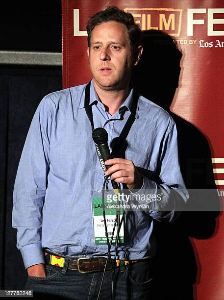 """Director Lee Hirsch speaks at """"The Bully Project"""" Q & A during the 2011 Los Angeles Film Festival at Regal Cinemas L.A. LIVE on June 19, 2011 in Los..."""