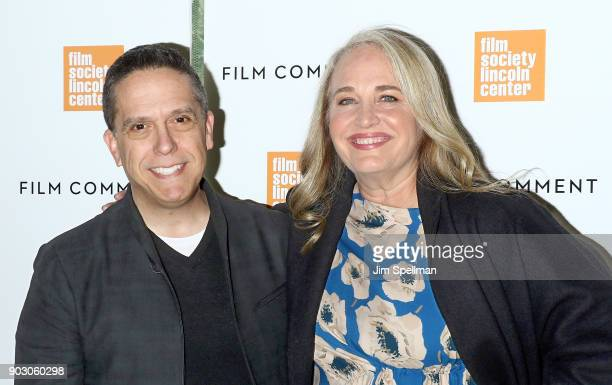 Director Lee Unkrich and producer Darla K Anderson attend the 2018 Film Society of Lincoln Center and Film Comment luncheon at Lincoln Ristorante on...