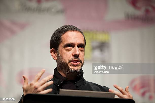 """Director Lee Unkrich attends the """"Toy Story 3"""" panel at the 2010 WonderCon - Day 2 at Moscone Center South on April 3, 2010 in San Francisco,..."""