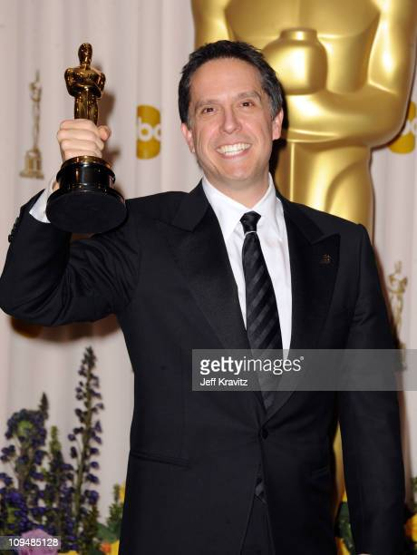 Director Lee Unkrich poses in the press room during the 83rd Annual Academy Awards held at the Kodak Theatre on February 27 2011 in Los Angeles...