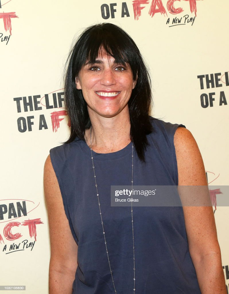 Director Leigh Silverman poses at the 'The Lifespan Of A Fact' photo call and meet & greet at The New 42nd Street Studios on September 6, 2018 in New York City.