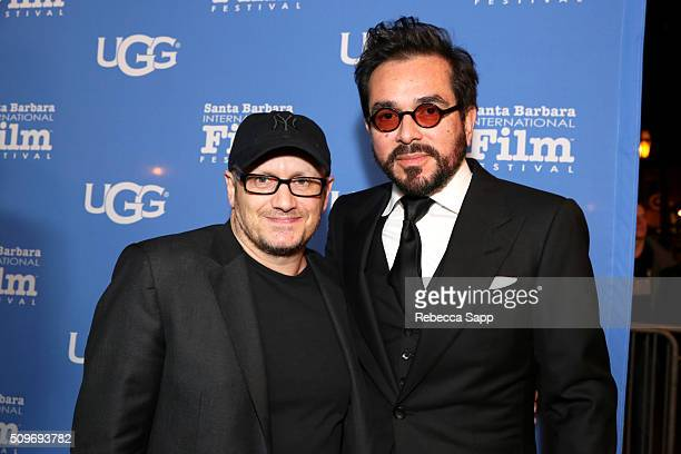 Director Lenny Abrahamson and SBIFF Director Roger Durling attend the Outstanding Directors Awards at the Arlington Theater during the 31st Santa...