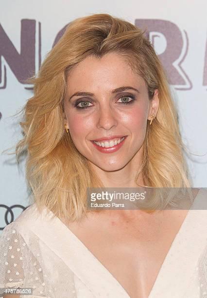Director Leticia Dolera attends 'Requisitos para ser una persona normal' premiere at Palafox cinema on June 3 2015 in Madrid Spain