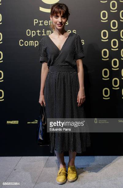 Director Leticia Dolera attends the 'Optimistas comprometidos awards' photocall at COAM on May 22 2017 in Madrid Spain