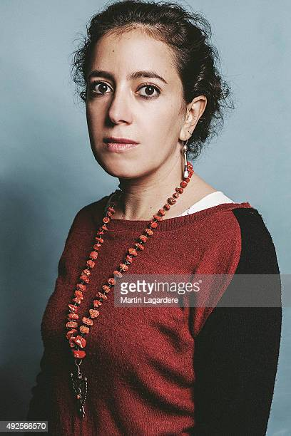 Director Leyla Bouzid is photographed for Self Assignment on October 5 2015 in Saint Jean de Luz France