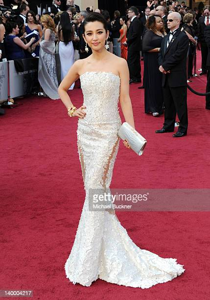 Director Li Bing Bing arrives at the 84th Annual Academy Awards held at the Hollywood Highland Center on February 26 2012 in Hollywood California