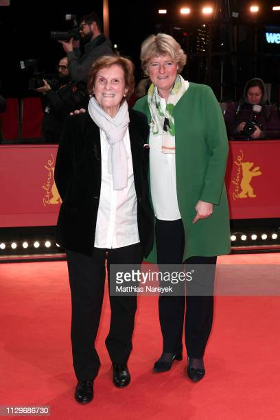 Director Liliana Cavani and Federal Commissioner for Culture and Media Monika Gruetters arrive for the Hommage Charlotte Rampling Honorary Golden...