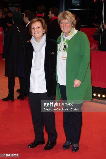 Director Liliana Cavani and Federal Commissioner for Culture and Media Monika Gruetters attend the Hommage Charlotte Rampling Honorary Golden Bear...