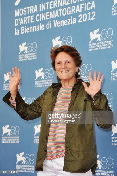 Director Liliana Cavani attends the Clarisse Photocall during the 69th Venice International Film Festival at Palazzo del Casino on September 1 2012...