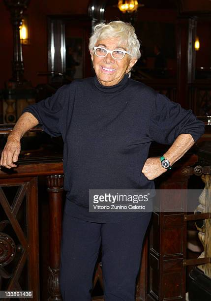 Director Lina Wertmuller attends the 2011 Capri Hollywood press conference at Cinema Odeon on November 21 2011 in Milan Italy