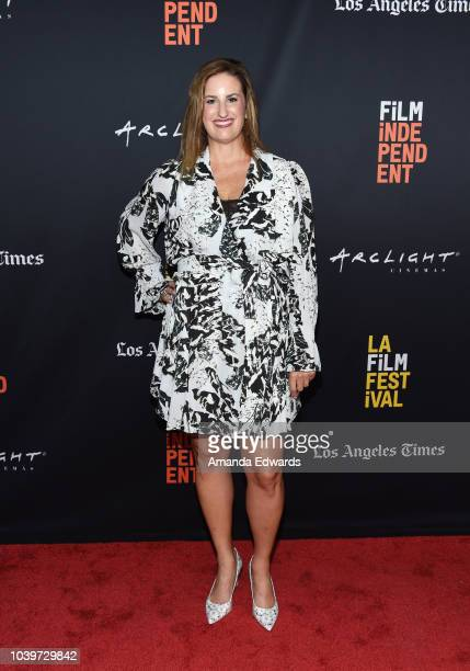 Director Linda Midgett attends the 2018 LA Film Festival Screening of 'Same God' at the ArcLight Hollywood on September 24 2018 in Hollywood...