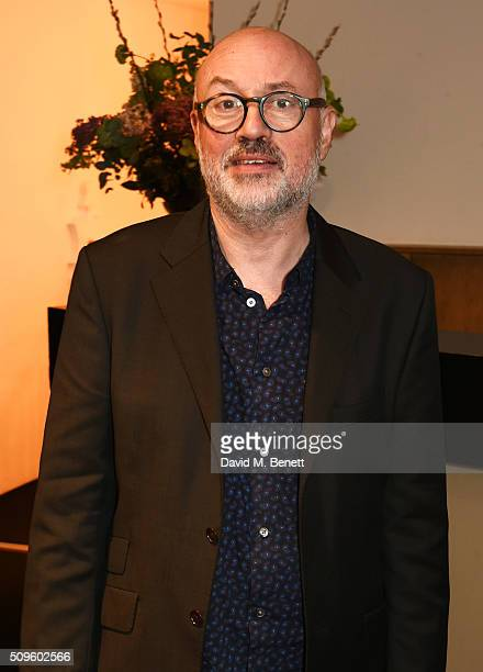 Director Lindsay Posner attends an after party celebrating the World Premiere of 'The End Of Longing' written by and starring Matthew Perry on...