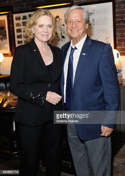 Director Liv Ullman and Donald Saunders at the 'Miss Julie' world premiere party hosted by GREY GOOSE vodka and Soho House Toronto during TIFF on...